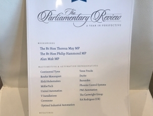RA Rodriguez shares best practice alongside Prime Minister Theresa May in The Parliamentary Review